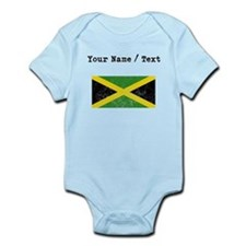 Custom Distressed Jamaica Flag Body Suit