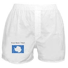 Custom Distressed Antarctica Flag Boxer Shorts