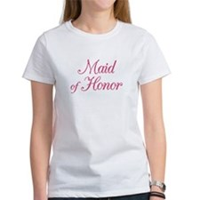 Maid of Honor (rose) Tee