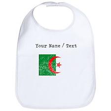Custom Distressed Algeria Flag Bib