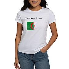 Custom Distressed Algeria Flag T-Shirt
