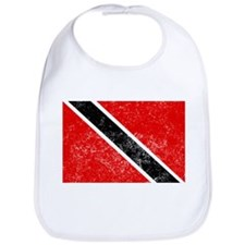 Distressed Trinidad and Tobago Flag Bib