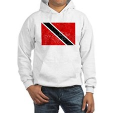 Distressed Trinidad and Tobago Flag Hoodie