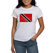 Distressed Trinidad and Tobago Flag T-Shirt