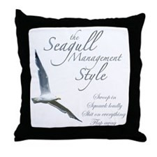 Seagull Style Throw Pillow