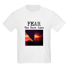 Fear the Suck Zone Kids T-Shirt