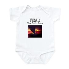 Fear the Suck Zone Infant Bodysuit