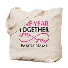 1st anniversary Tote Bag