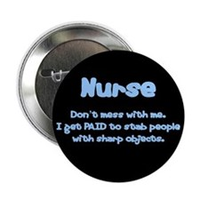 "Don't mess with me! 2.25"" Button (100 pack)"
