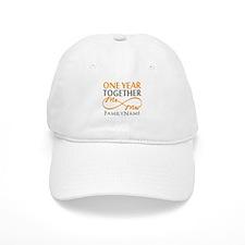 Gift For 1st Wedding Anniversary Baseball Cap