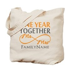Gift For 1st Wedding Anniversary Tote Bag