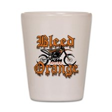 BleedOrange Shot Glass