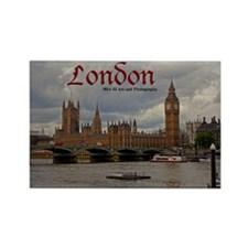 London Rectangle Magnet Magnets