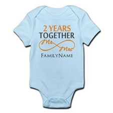 Gift For 2nd Wedding Anniversary Infant Bodysuit