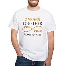 Gift For 2nd Wedding Anniversary Shirt