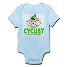 Cute Cyclist Infant Bodysuit