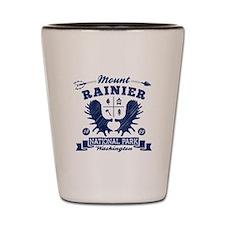 Mount Rainier Camper Shot Glass