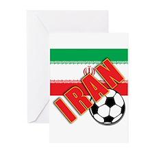IRAN World Soccer Greeting Cards (Pk of 10)