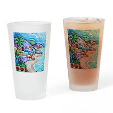 Laguna Beach Feeling By Angela Cruz Drinking Glass