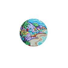 Laguna Beach Feeling By Angela Cruz Mini Button