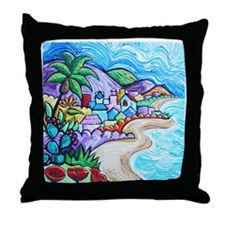 Laguna Beach Feeling By Angela Cruz Throw Pillow