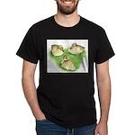 Snowy Mallard Ducklings Dark T-Shirt