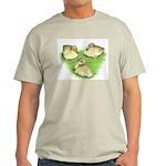 Snowy Mallard Ducklings Light T-Shirt