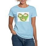 Snowy Mallard Ducklings Women's Light T-Shirt