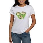 Snowy Mallard Ducklings Women's T-Shirt