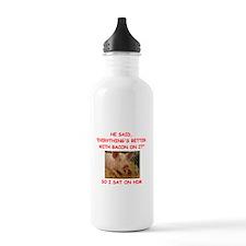 pig humor Water Bottle
