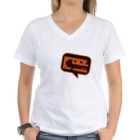 Shout Cool! Women's V-Neck T-Shirt
