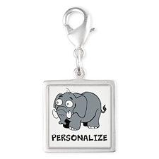 Elephant cartoon | Personalized Charms