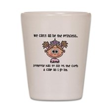Princess (light brown) - Customize! Shot Glass