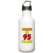 Cheers To 95 Years Water Bottle