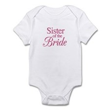 Sister of the Bride (rose) Infant Bodysuit