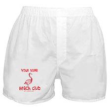 Custom Beach Club Boxer Shorts