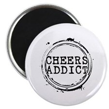 Cheers Addict Magnet