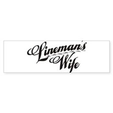 Cute Power lineman Bumper Sticker