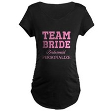 Team Bride | Personalized Wedding Maternity T-Shir
