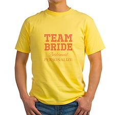 Team Bride | Personalized Wedding T-Shirt