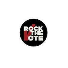 Rock The Vote Mini Button (10 Pack)