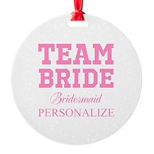 Team Bride | Personalized Wedding Ornament