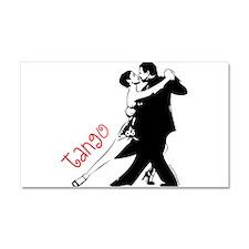 Cute Tango Car Magnet 20 x 12