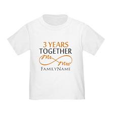 3rd anniversary T