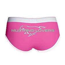 Mustang Lovers Club Logo Women's Boy Brief