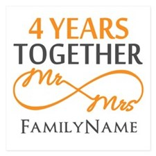4th anniversary Invitations