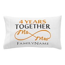 4th anniversary Pillow Case