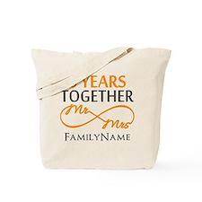 5th wedding anniversary Tote Bag