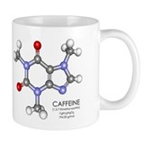 Caffeine Molecule Small Mug