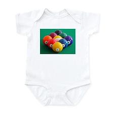 9 Ball Rack Infant Bodysuit
